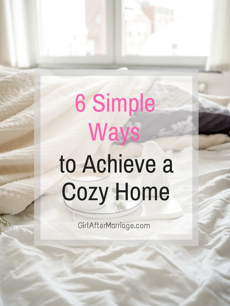 6 Simple Ways to Achieve a Cozy Home