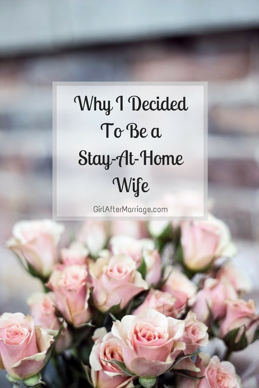 """""""Why I Decided To Be A Stay-At-Home Wife"""" is locked Why I Decided To Be A Stay-At-Home Wife"""