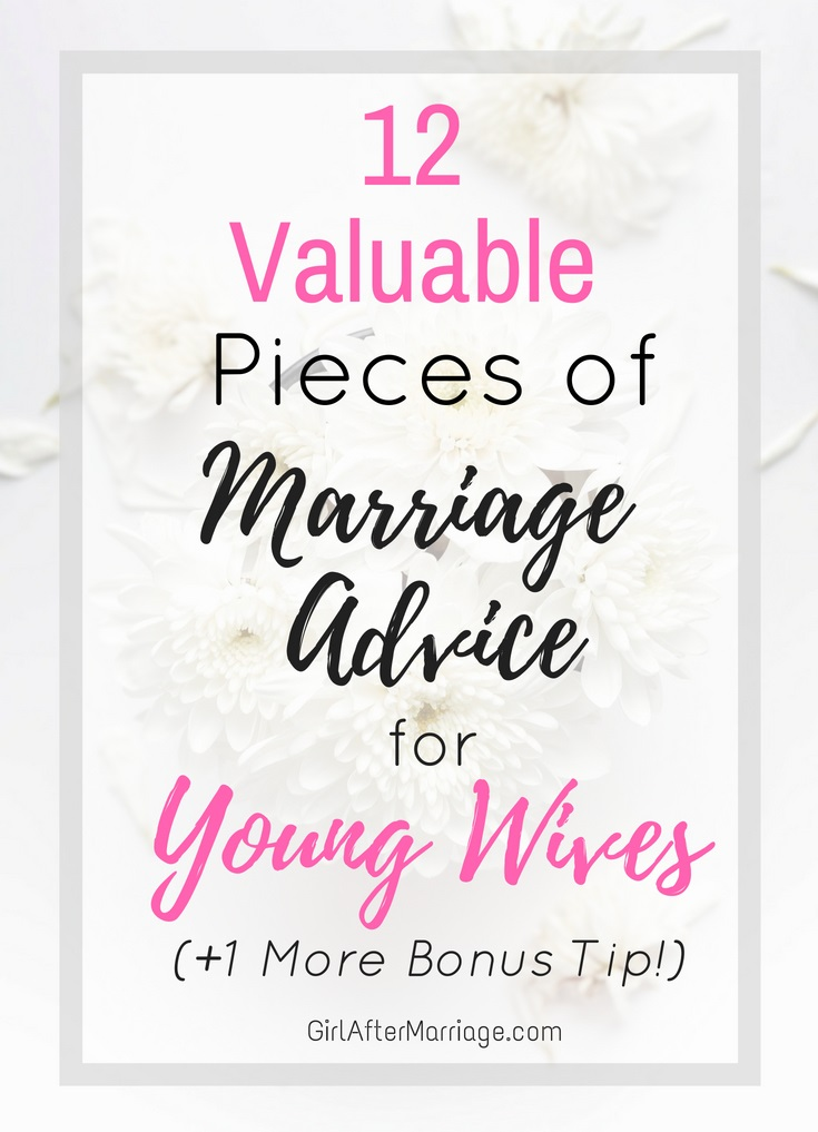 12 Valuable Tips and Marriage Advice For Young Wives 4